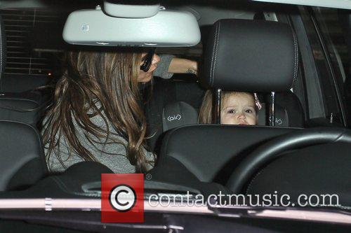 Victoria Beckham and Harper Seven Beckham 6