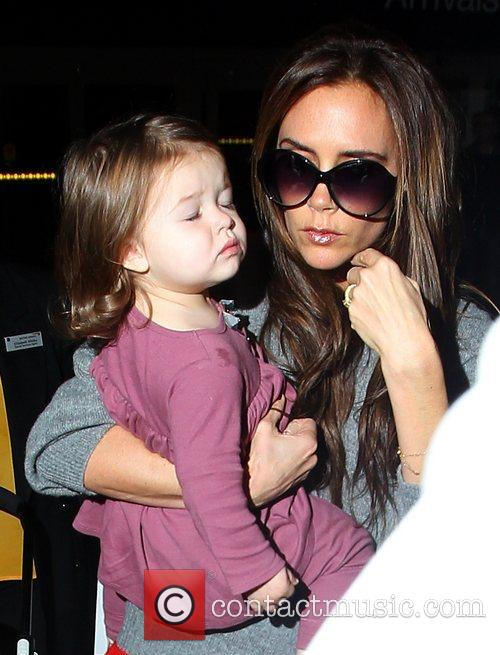 Victoria Beckham and Harper Seven Beckham 1