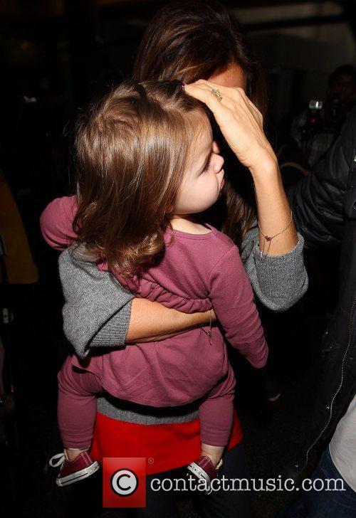 Victoria Beckham and Harper Seven Beckham 4