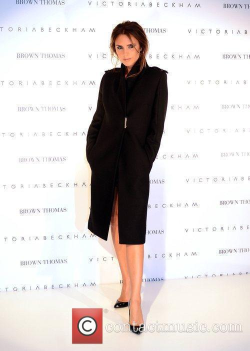 victoria beckham promotes her collections at brown 3995786