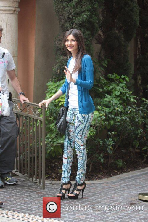 disney channel star victoria justice at the 5816101
