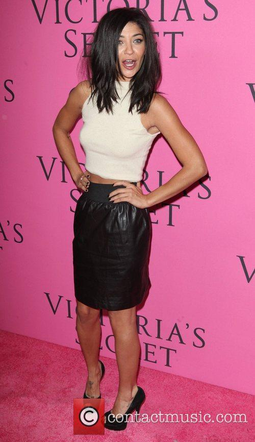 Jessica Szohr and Victoria's Secret Fashion Show 1