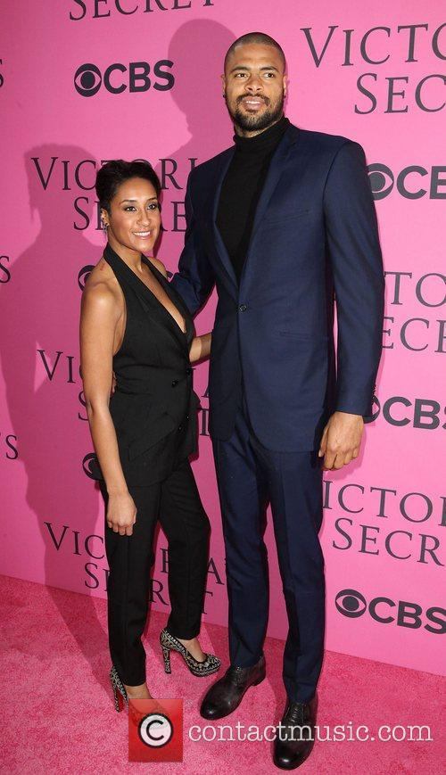 Kimberly Chandler, Tyson Chandler and Victoria's Secret Fashion Show 2