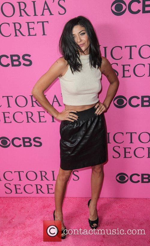 Jessica Szohr and Victoria's Secret Fashion Show 3