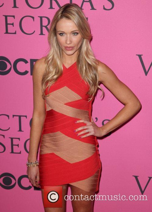 Kristina Bowden and Victoria's Secret Fashion Show 2