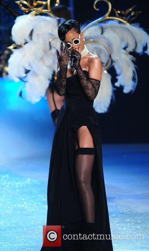Rihanna at Victoria's Secret Show