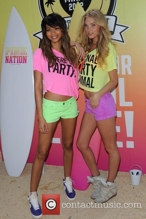 Chanel Iman and Victorias Secret 3