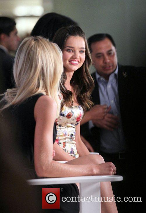 Candice Swanepoel and Miranda Kerr make an appearance...