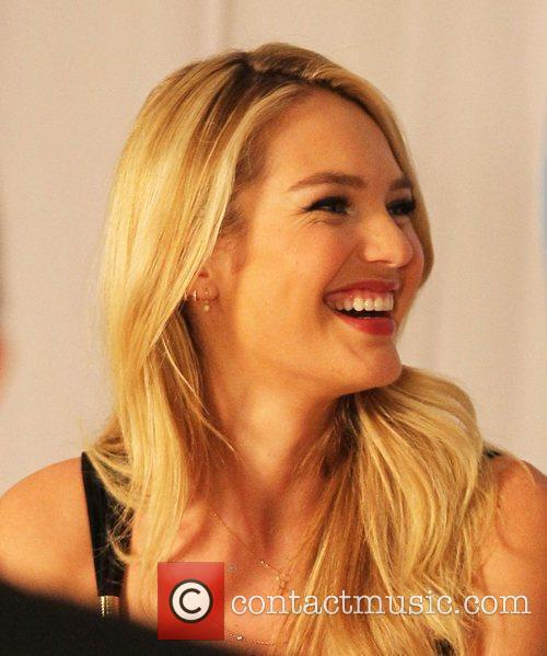 candice swanepoel makes an appearance at the 3805384