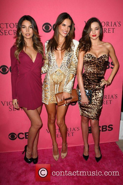Lily Aldridge, Alessandra Ambrosio, Miranda Kerr and Victoria's Secret 10