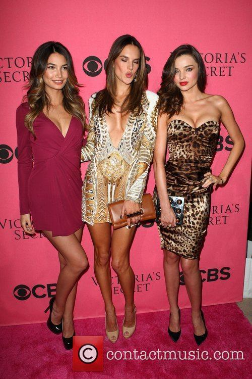 Lily Aldridge, Alessandra Ambrosio, Miranda Kerr and Victoria's Secret 7