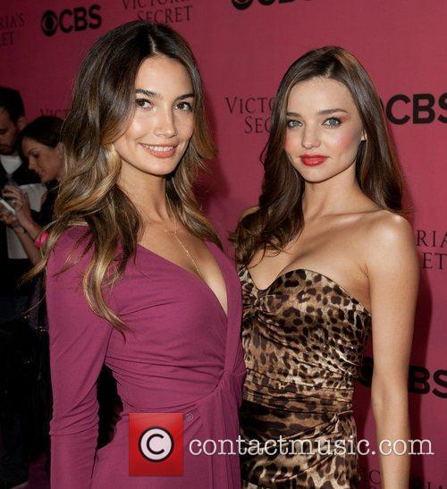 Lily Aldridge, Miranda Kerr and Victoria's Secret 3