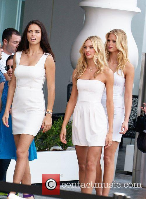 Adriana Lima, Candice Swanepoel, Erin Heatherton and Victoria's Secret 2