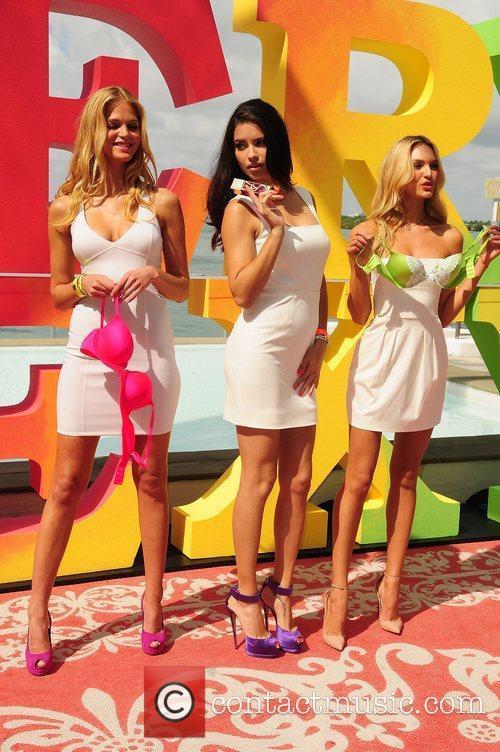 Erin Heatherton, Adriana Lima, Candice Swanepoel and Victoria's Secret 3