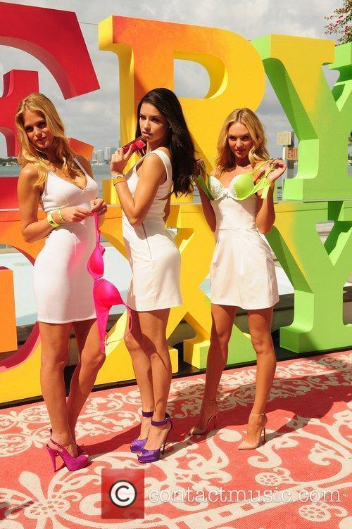 Erin Heatherton, Adriana Lima, Candice Swanepoel and Victoria's Secret 5