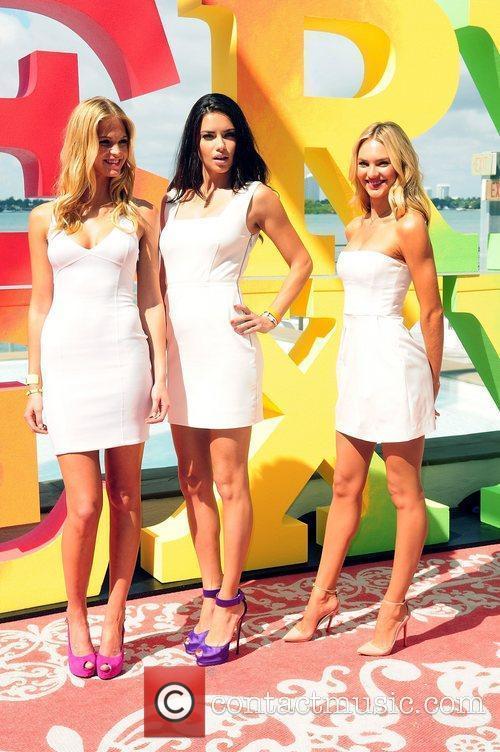 Erin Heatherton, Adriana Lima, Candice Swanepoel and Victoria's Secret 6