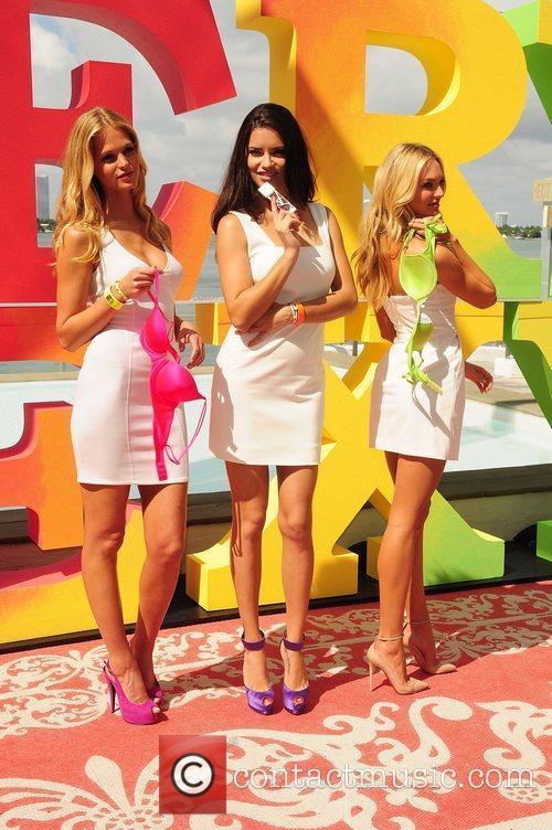 Erin Heatherton, Adriana Lima, Candice Swanepoel and Victoria's Secret 7