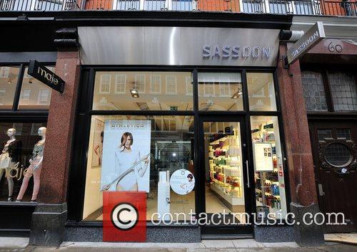 The Vidal Sasson salon in South Molton Street,...