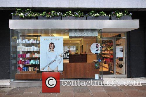 The Vidal Sassoon salon in Sloane Square...