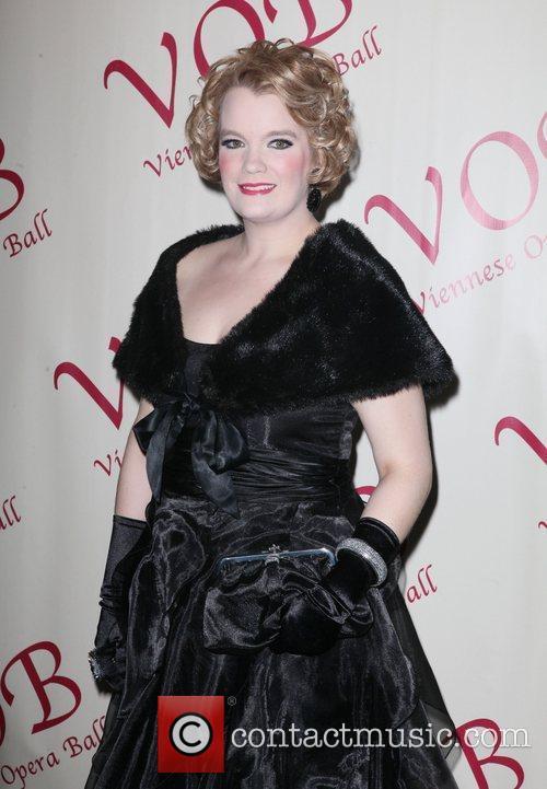Amy Shoremount-Obra 57th annual Viennese Opera ball gala...