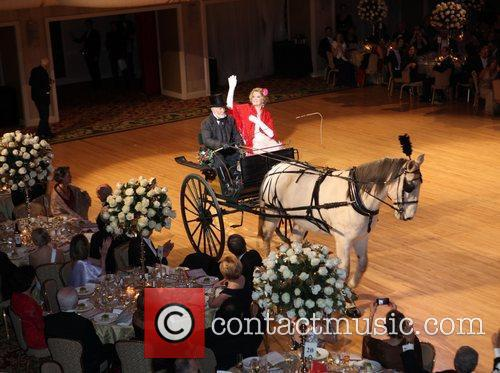 Atmosphere 57th annual Viennese Opera ball gala at...
