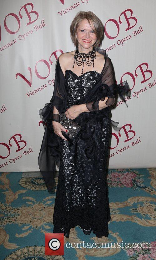 Cyndia Sieden 57th annual Viennese Opera ball gala...