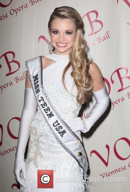 Miss Teen USA, Danielle Doty 57th annual Viennese...