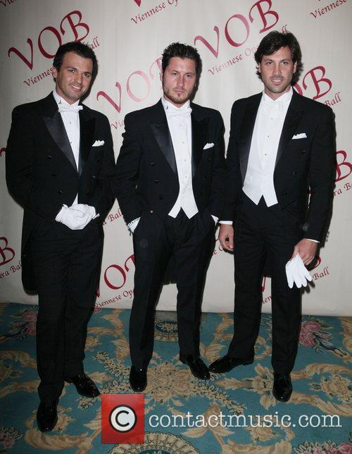 Tony Dovolani, Maksim Chmerkovskiy and Val Chmerkovskiy 5