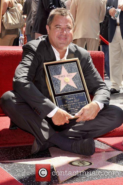 Vince Gill and Star On The Hollywood Walk Of Fame 10