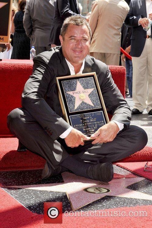 Vince Gill and Star On The Hollywood Walk Of Fame 11