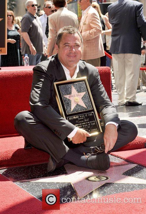 Vince Gill and Star On The Hollywood Walk Of Fame 5