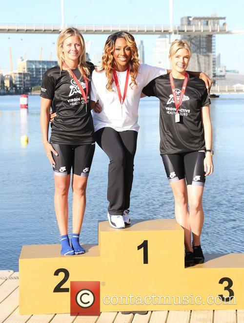 Holly Branson, Alexandra Burke and Isabella Calthorpe 2