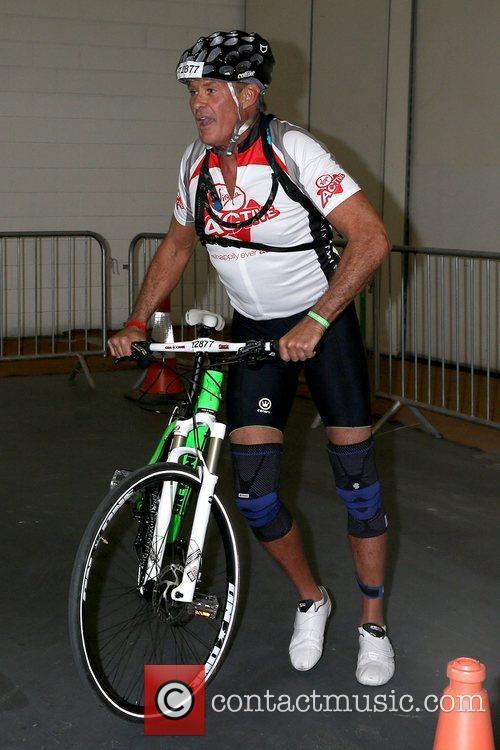 David Hasselhoff Virgin Active London Triathlon - photocall...