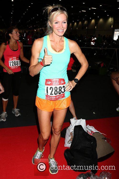 Nell McAndrew Virgin Active London Triathlon - photocall...