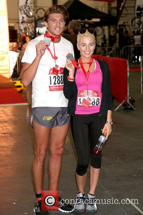 Tom Kilbey and Lydia Rose Bright Virgin Active...