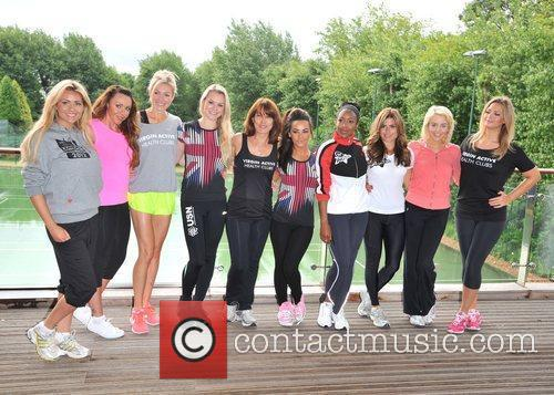 Lydia Bright, Chelsee Healey, Kay Burley, Michelle Heaton, Nell Mcandrew, Nicola Mclean and Zoe Hardman 2