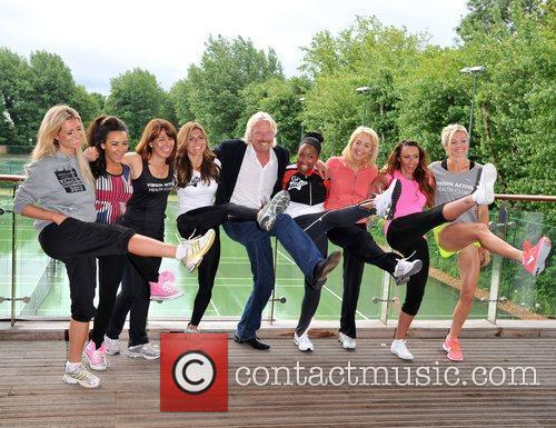 Richard Branson, Chelsee Healey, Kay Burley, Lydia Bright, Michelle Heaton, Nell Mcandrew, Nicola Mclean and Zoe Hardman 9