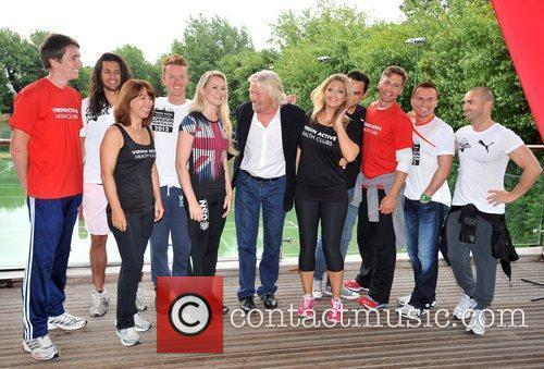 Richard Branson, Chelsee Healey, Jon Lee, Kay Burley, Louie Spence, Oliver Phelps, Toby Anstis and Zoe Hardman 4