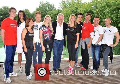 Richard Branson, Chelsee Healey, Jon Lee, Kay Burley, Louie Spence, Oliver Phelps, Toby Anstis and Zoe Hardman 5