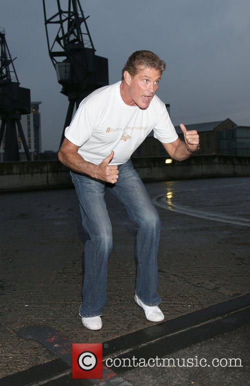 David Hasselhoff Photocall for the Virgin Active London...