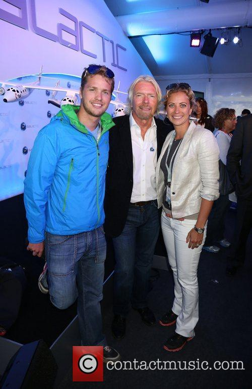Richard Branson and Galactic 4