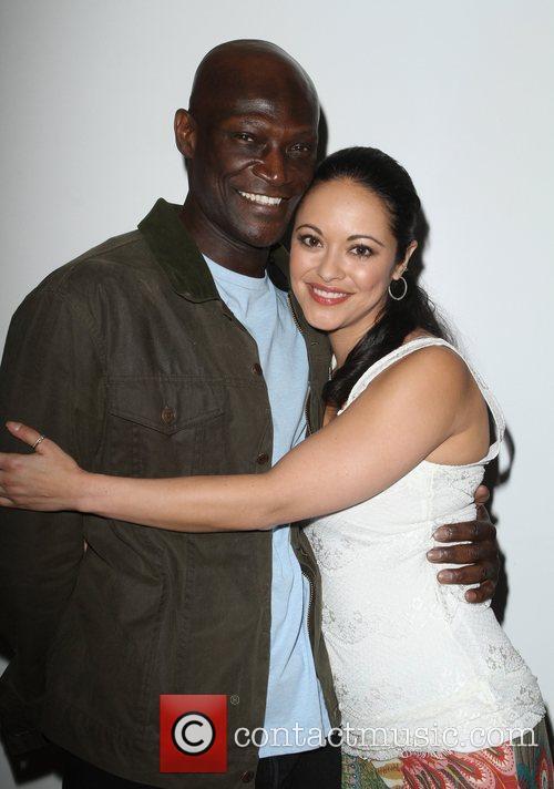 Peter Mensah and Marisa Ramirez 2