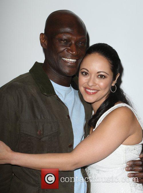 Peter Mensah and Marisa Ramirez 3