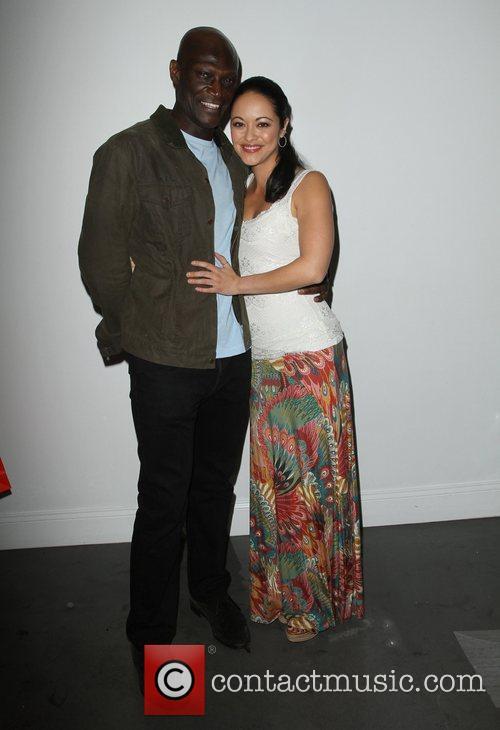 Peter Mensah and Marisa Ramirez 4