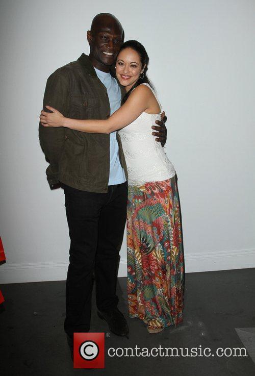Peter Mensah and Marisa Ramirez