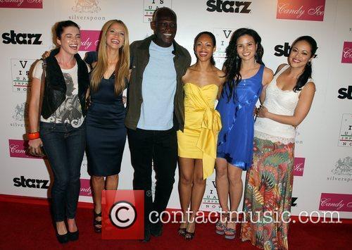 Viva Bianca, Katrina Law, Marisa Ramirez and Peter Mensah 9
