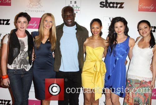 Viva Bianca, Katrina Law, Marisa Ramirez and Peter Mensah 11