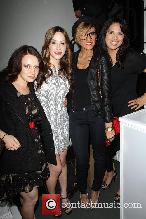 Romi Klinger and Rose Garcia with Friends Visual...