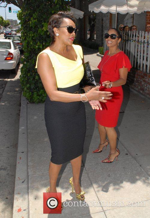Vivica A. Fox seen leaving the Ivy in...