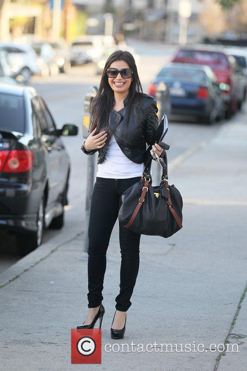 Actress Vivica Mitra out and about on Robertson...